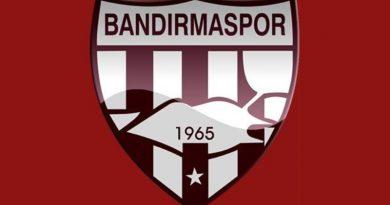 BANDIRMASPOR DEPLASMANDAN GALİP DÖNDÜ