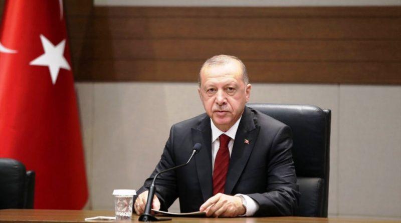 Cumhurbaşkanı Erdoğan'nın yeni yıl mesajı
