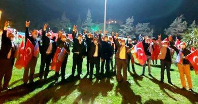 ÜLKÜ OCAKLARINDAN AZERBAYCAN'A DESTEK