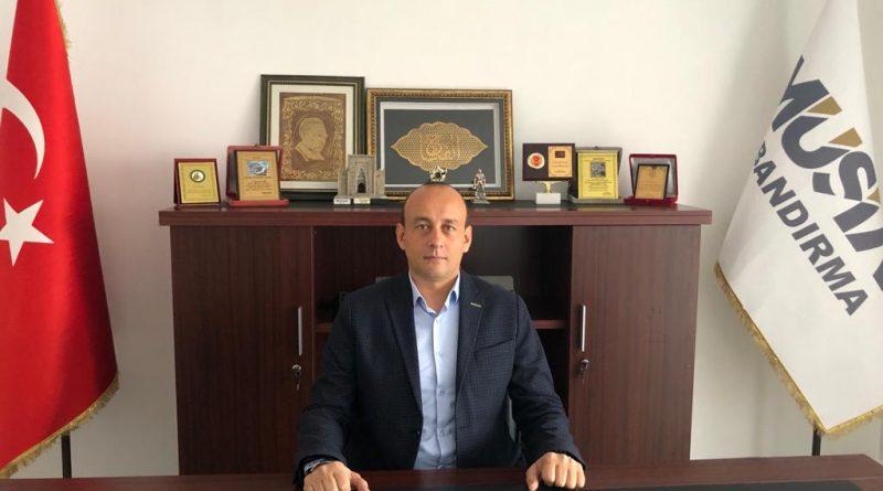 Müsiad Bandırma Şube Başkanı Ali Şengül