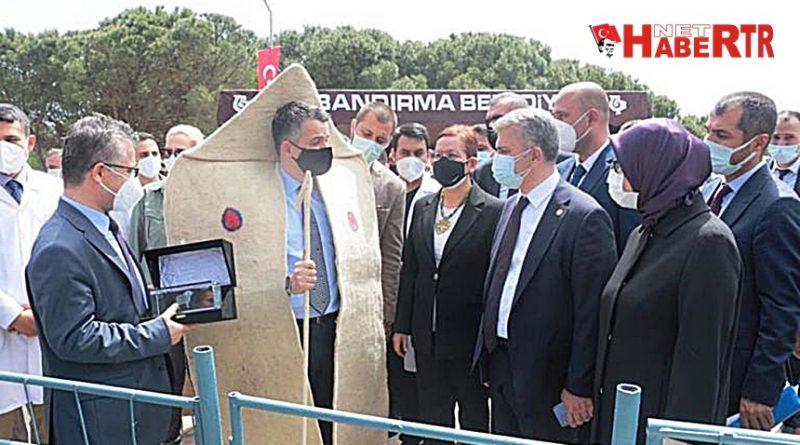 BAKAN PAKDEMİRLİ'DEN BANDIRMA'YA ZİYARET