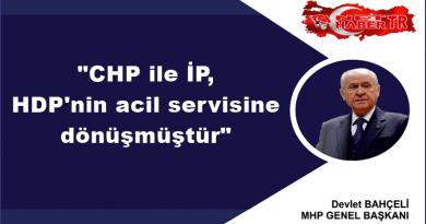 """MHP Lideri Bahçeli """"CHP ile İP, HDP'nin acil servisine dönüşmüştür"""""""