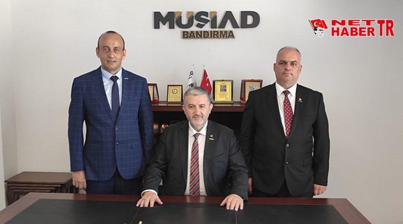 MÜSİAD Başkanı Ali Şengül görevini Cemal Gümüş'e devretti