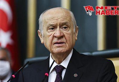 """MHP Lideri Bahçeli: """"Biz sussak tarih susmayacak"""""""
