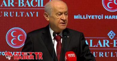 """Devlet Bahçeli: """"HDP eşittir PKK'dır, YPG'dir, PYD'dir"""
